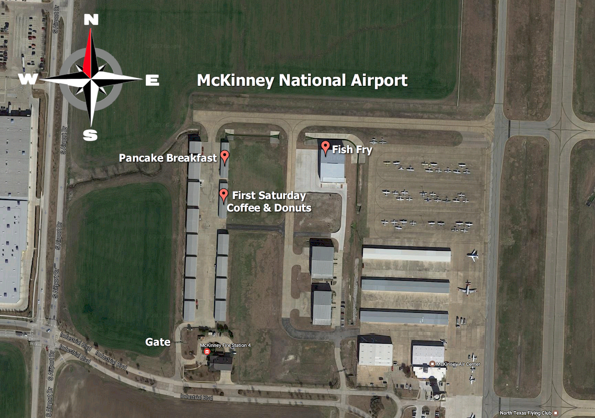 Click on any of the pictures to see the airport diagram - Click On The Map Below For Larger Image